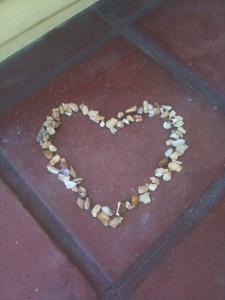hearts on doorstep
