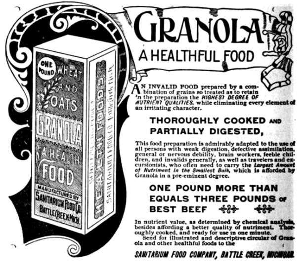granola ad